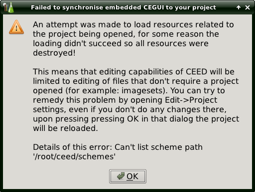 Ceed new project warning.png